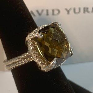 NWOT David Yurman 14mm Chatelaine Ring